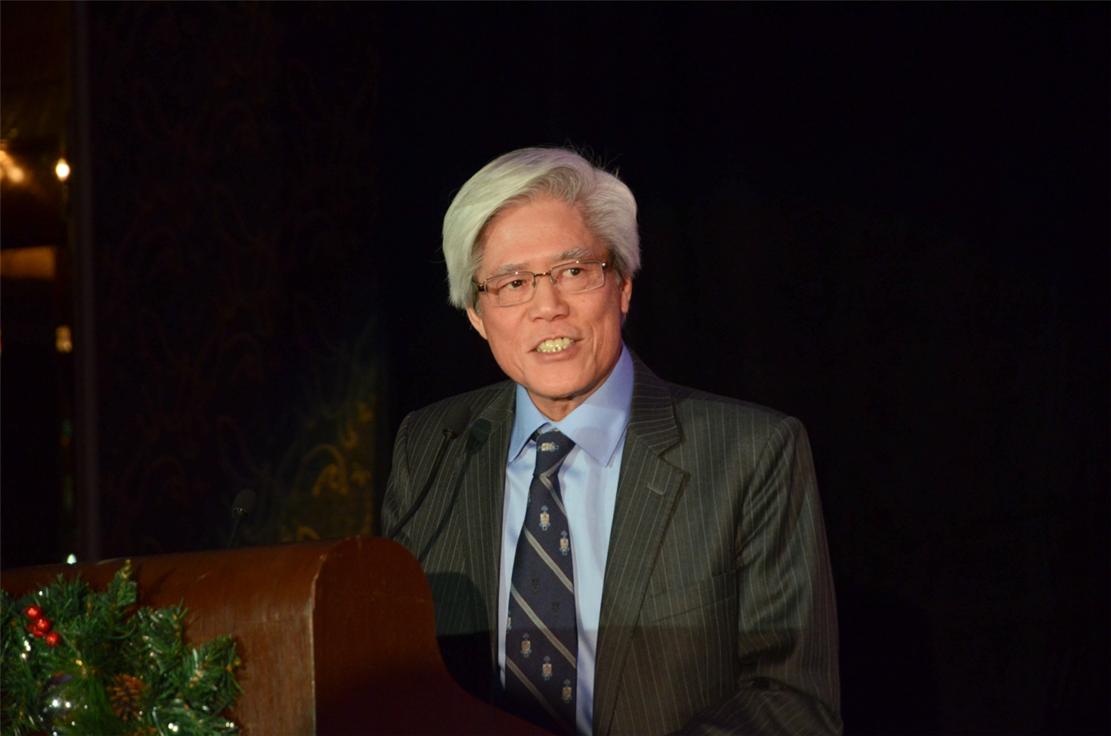 cpac gala raises funds and celebrates immigrant success 2015 cpac professional achievement award winner dr kue young delivers a speech at gala