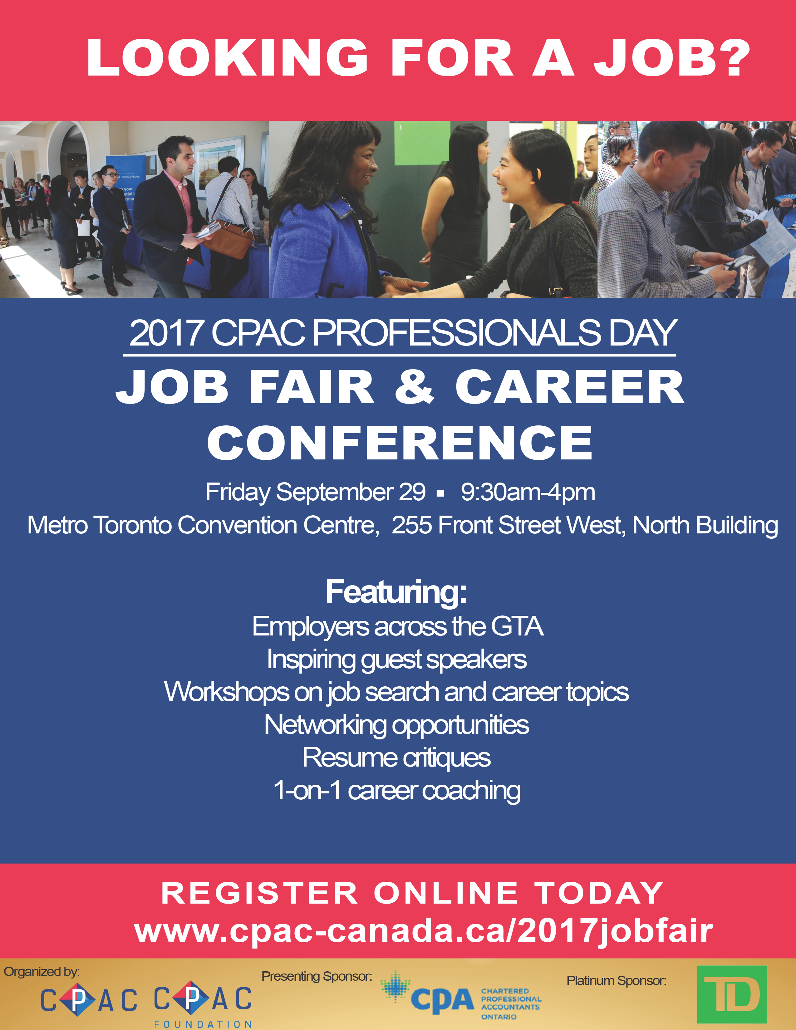 2017 CPAC Professionals Day: Career Conference & Job Fair